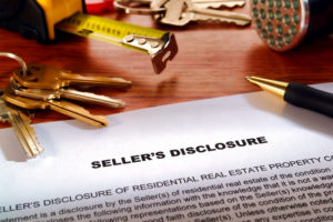 A property disclosure statement from the seller.