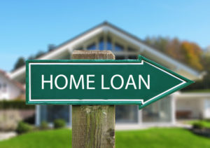 Home loan sign for rural housing loans